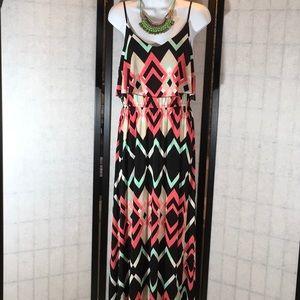Trixxi knit maxi dress